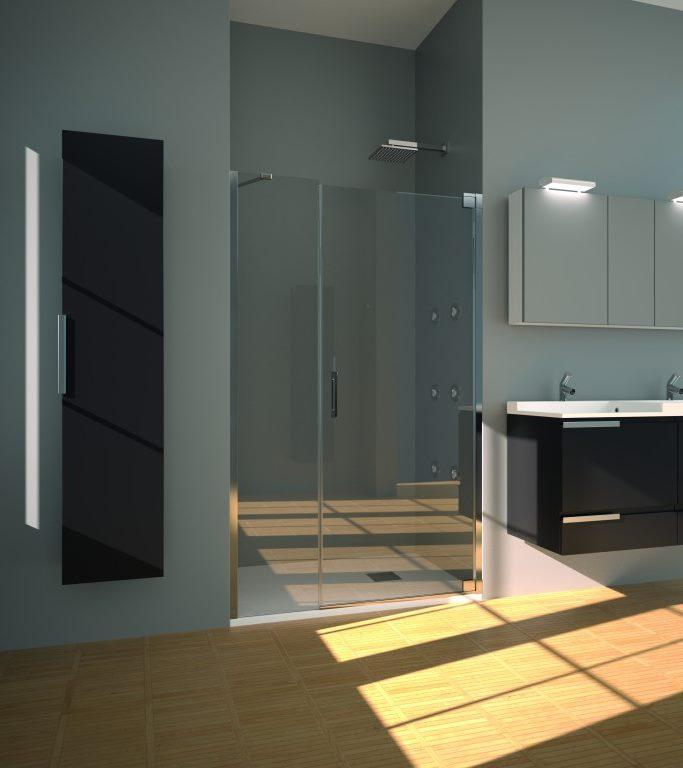 expertbath fr furo b15 paroi de douche. Black Bedroom Furniture Sets. Home Design Ideas