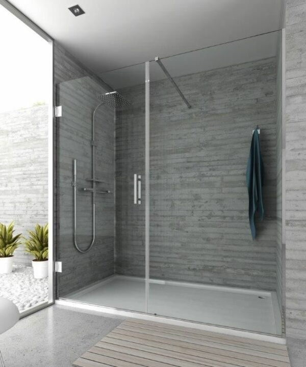 Paroi de douche sur mesure Esbath EXF215IR