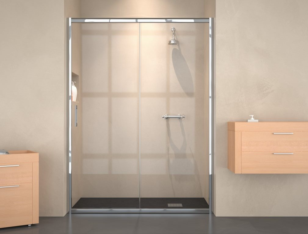 expertbath fr shawa b10 paroi de douche ou baignoire. Black Bedroom Furniture Sets. Home Design Ideas