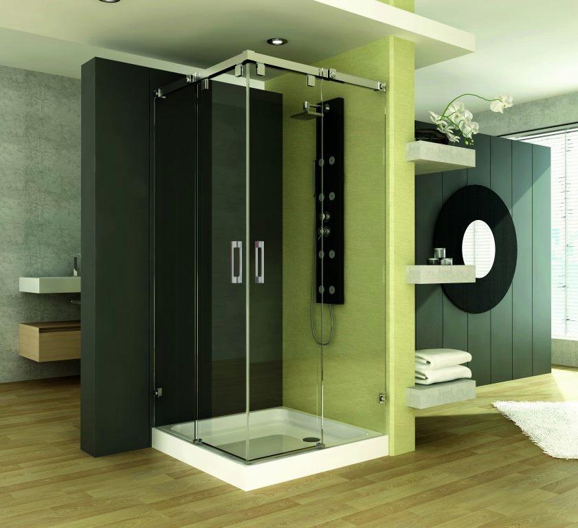 Paroi de douche sur mesure Esbath EXS220D1