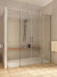 Paroi de douche sur mesure Esbath EXS225IR