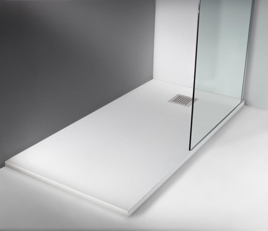 expertbath fr stone t30 receveur de douche lisse. Black Bedroom Furniture Sets. Home Design Ideas