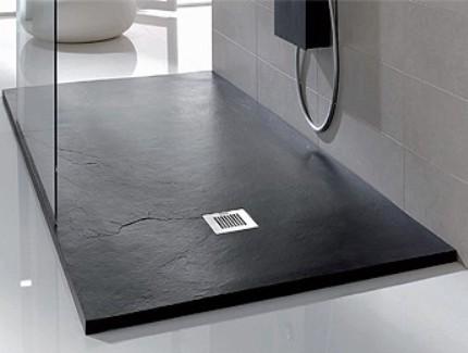 stone t20 receveur de douche ardoise expertbath fr. Black Bedroom Furniture Sets. Home Design Ideas
