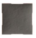 Grille Pierre Graphite Ral 7016