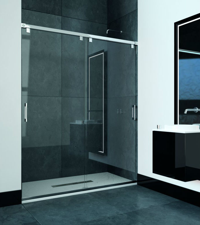 expertbath fr shawa b12 paroi de douche ou baignoire. Black Bedroom Furniture Sets. Home Design Ideas